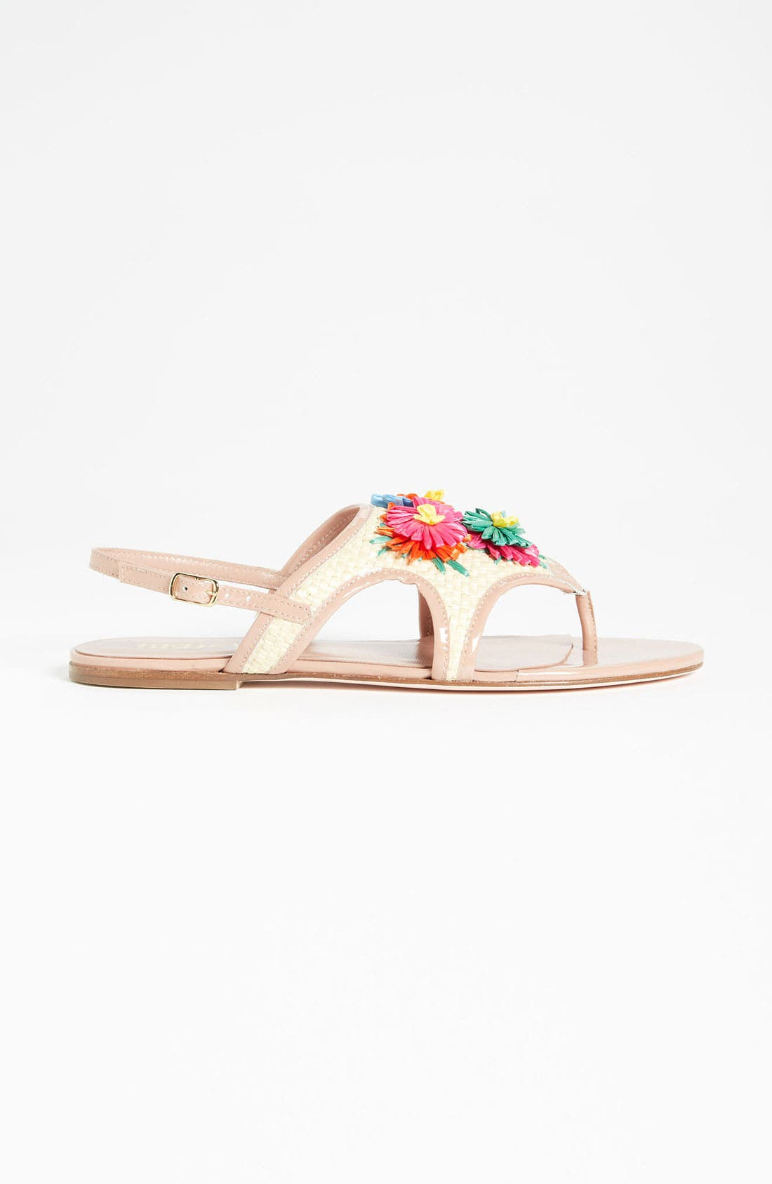 Alternate Image 4  - RED Valentino Embroidered Sandal