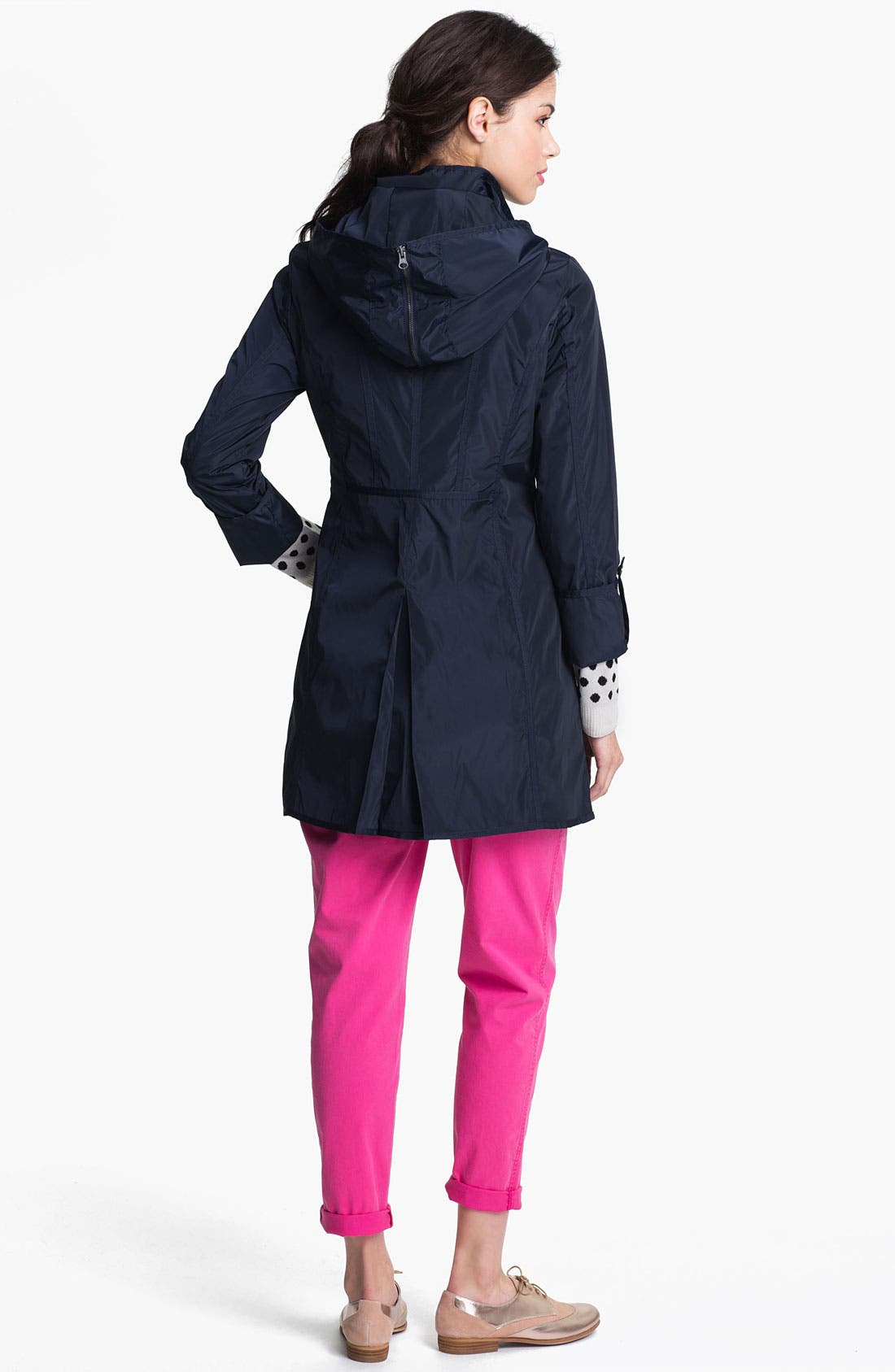 Alternate Image 5  - DKNY Anorak with Detachable Split Hood