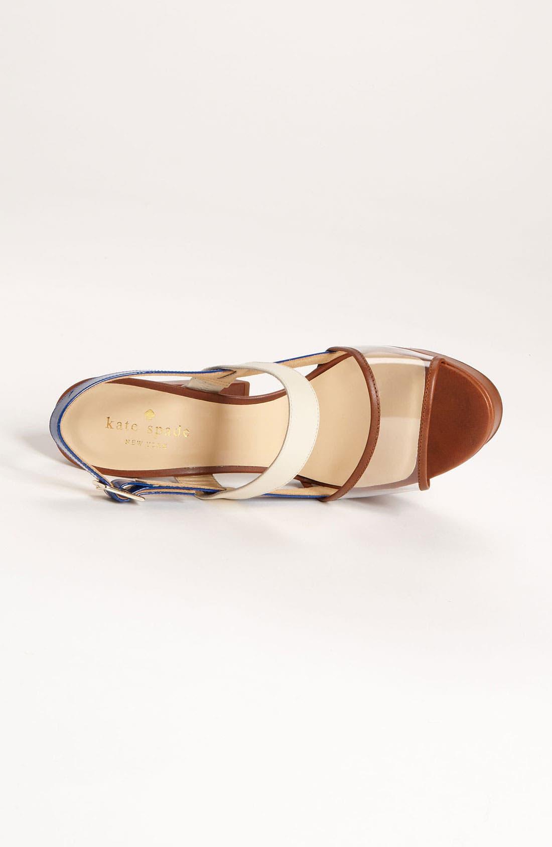 Alternate Image 3  - kate spade new york 'izzy' sandal