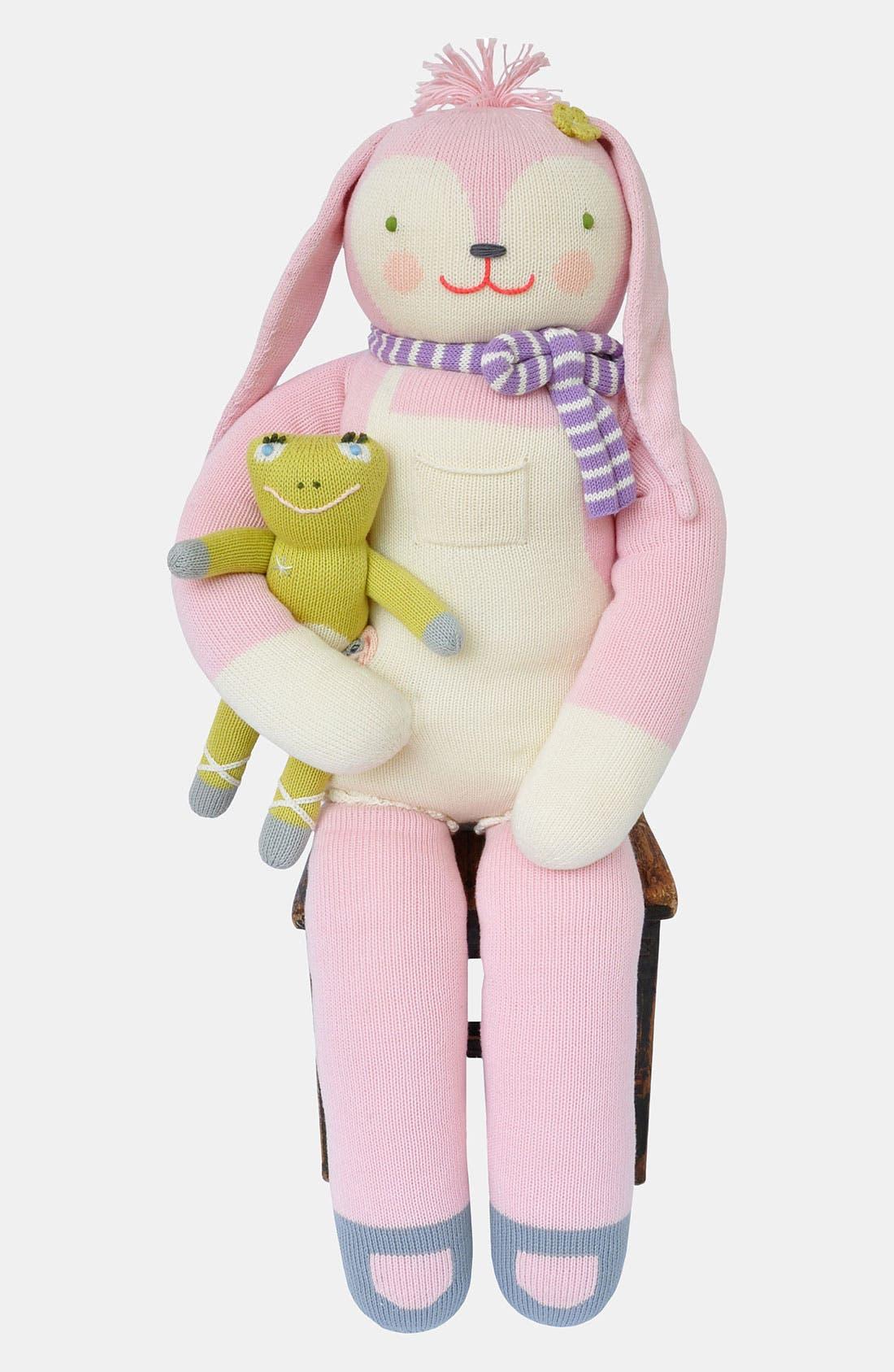 Main Image - Blabla 'Fleur the Bunny - Giant' Knit Doll