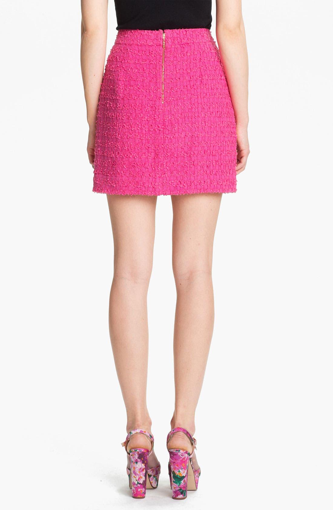 Alternate Image 2  - kate spade new york 'robbie' woven skirt