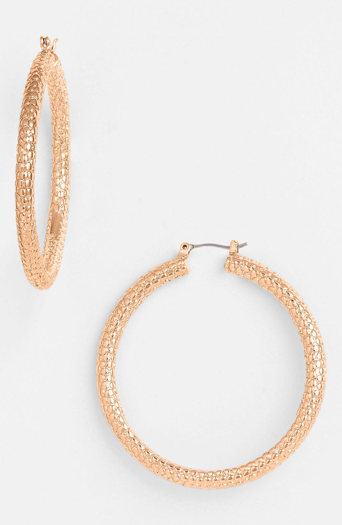 Alternate Image 1 Selected - MARC BY MARC JACOBS 'Lizard' Hoop Earrings