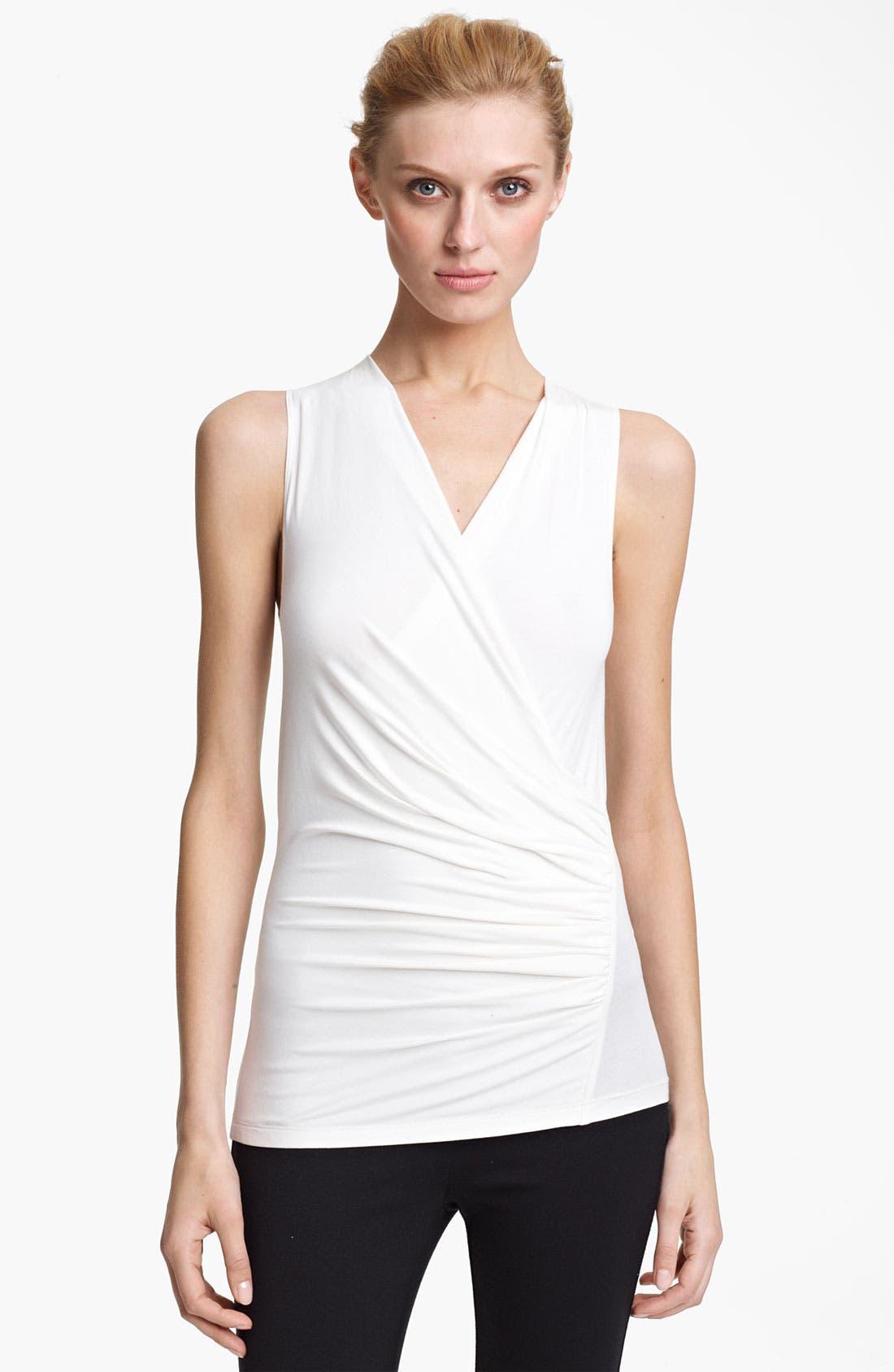 Main Image - Donna Karan Collection Mélange Jersey Tunic