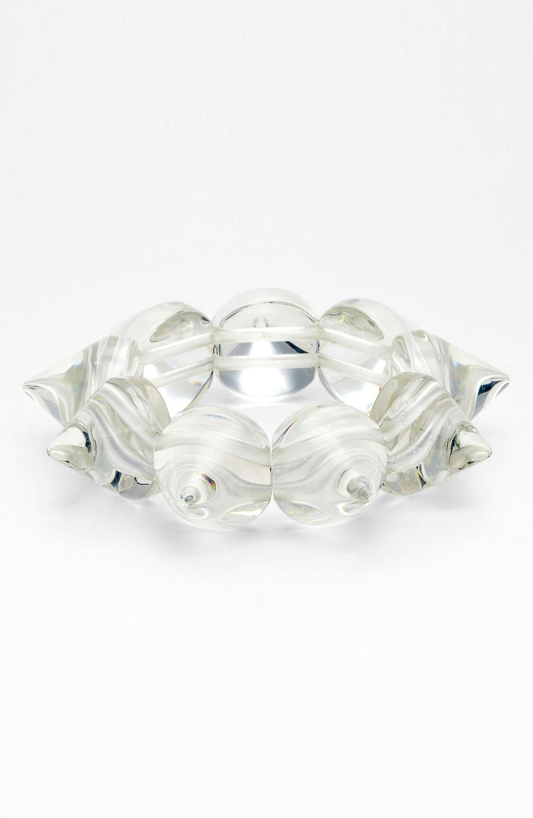 Alternate Image 1 Selected - Adia Kibur Spike Stretch Bracelet
