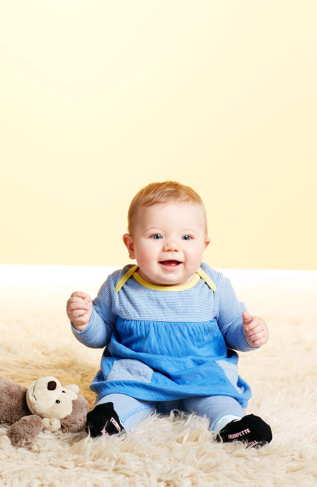 Alternate Image 2  - Stem Baby Dress & Leggings (Infant)