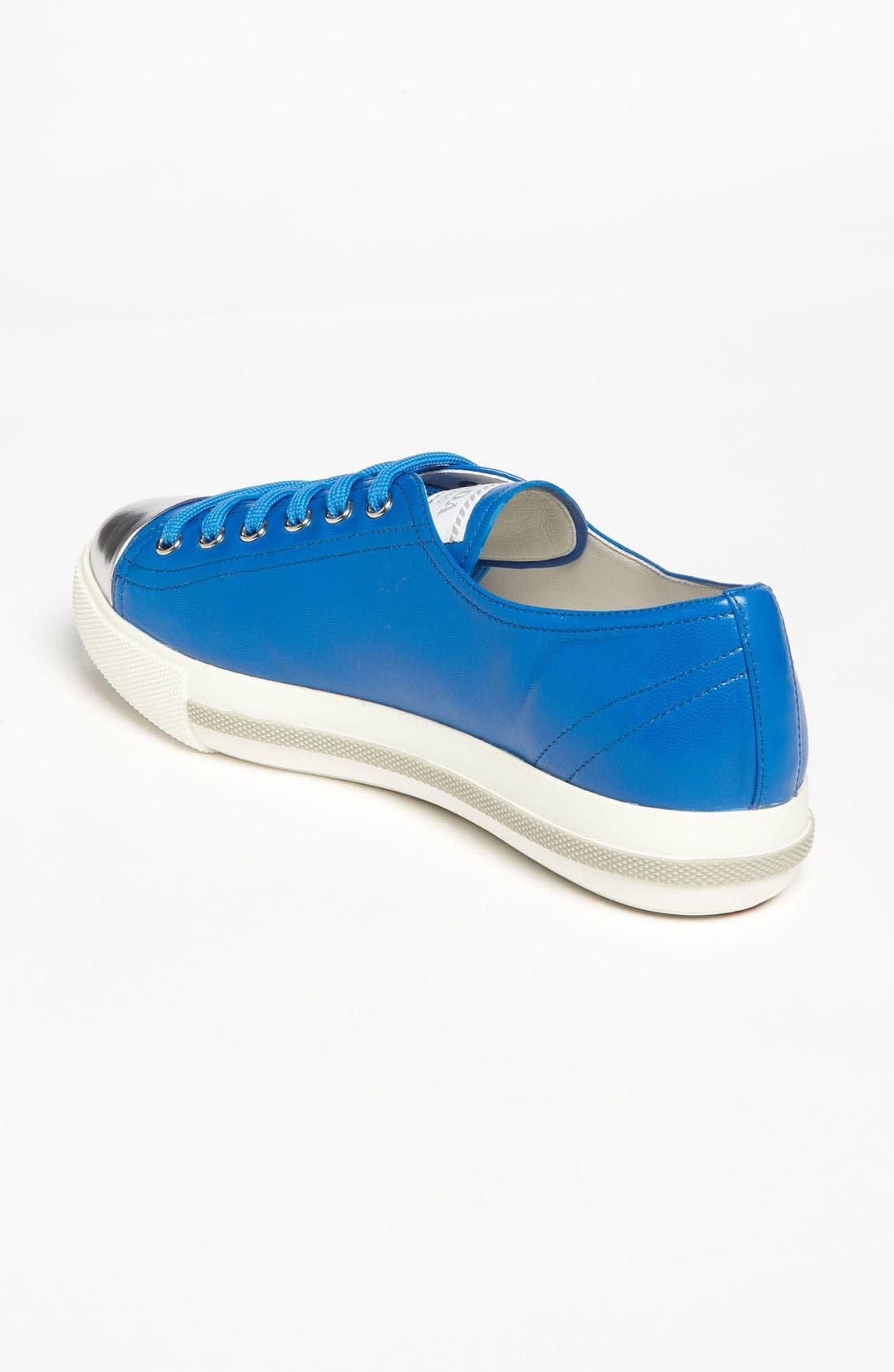 Alternate Image 2  - Prada Cap Toe Sneaker
