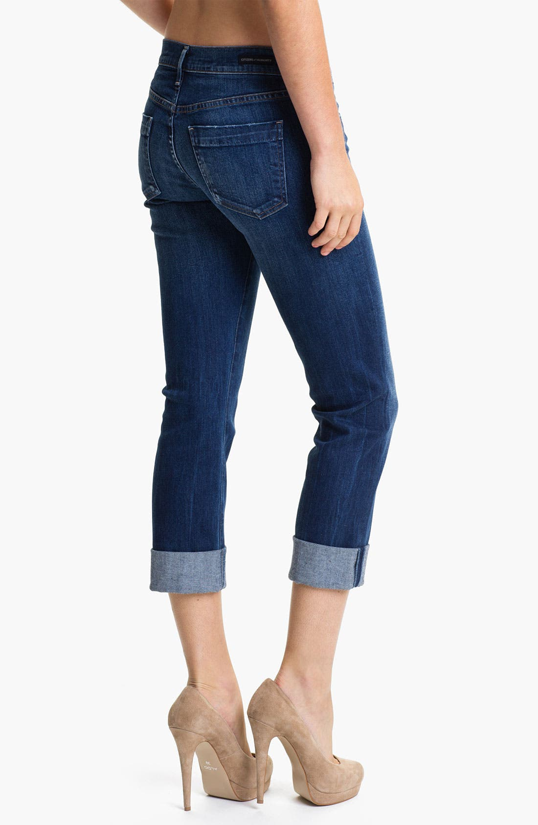 Alternate Image 2  - Citizens of Humanity 'Dani' Skinny Crop Jeans (Envy Navy)