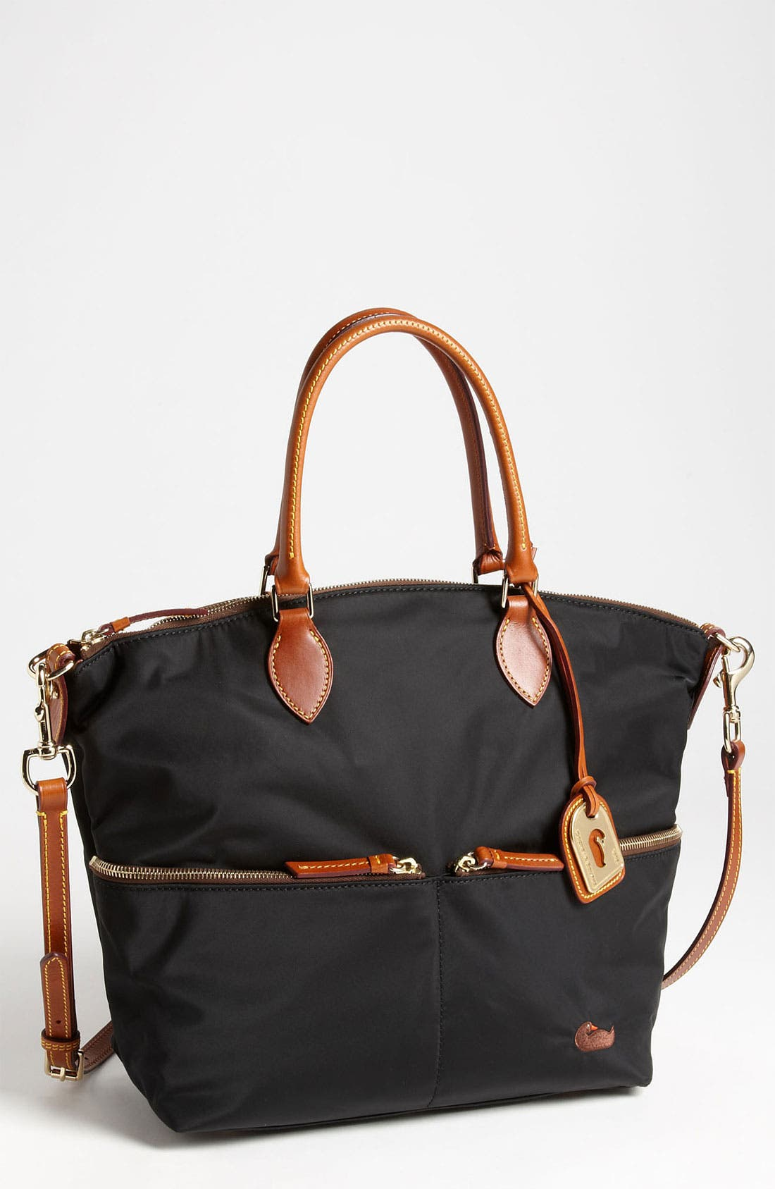 Main Image - Dooney & Bourke 'Zip Sac' Nylon Satchel