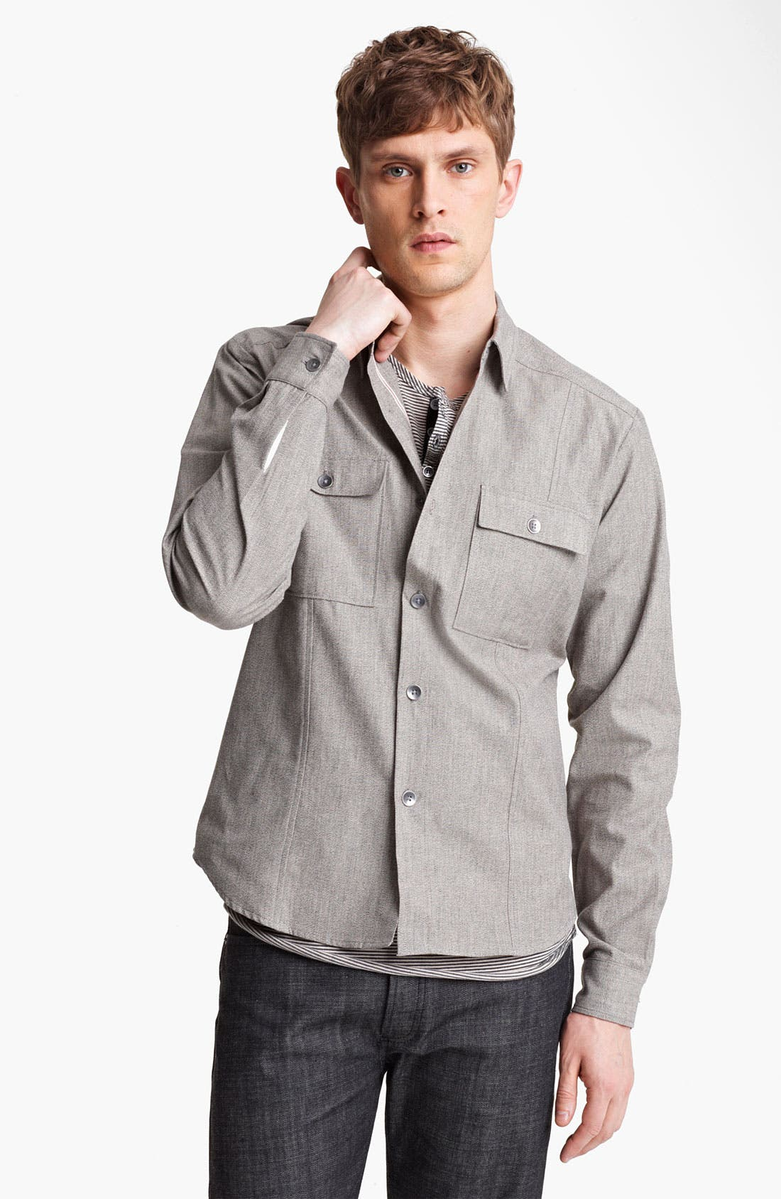 Alternate Image 1 Selected - Field Scout Japanese Selvedge Work Shirt