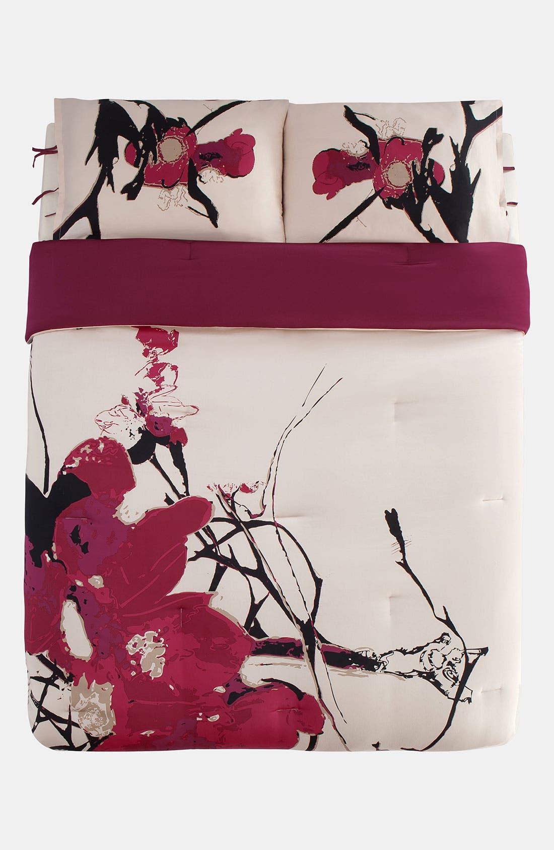 Alternate Image 2  - kensie 'Blossom' 300 Thread Count Cotton Comforter (Online Only)