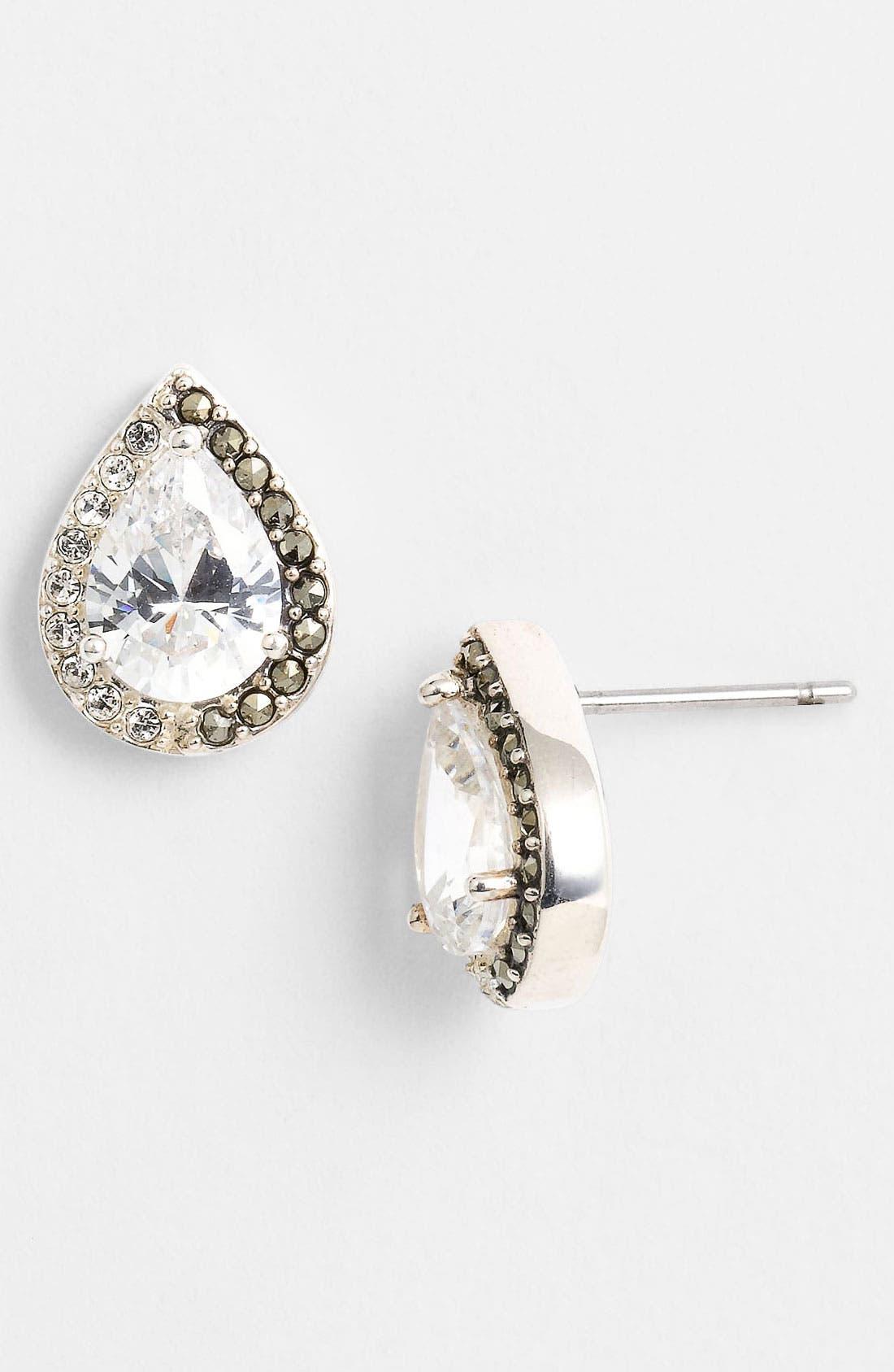 Alternate Image 1 Selected - Judith Jack 'Amore' Stud Earrings