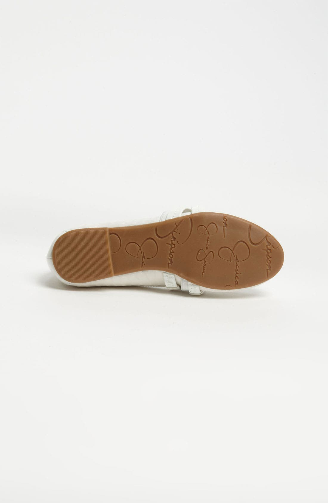 Alternate Image 4  - Jessica Simpson 'Mandi' Flat (Toddler, Little Kid & Big Kid)