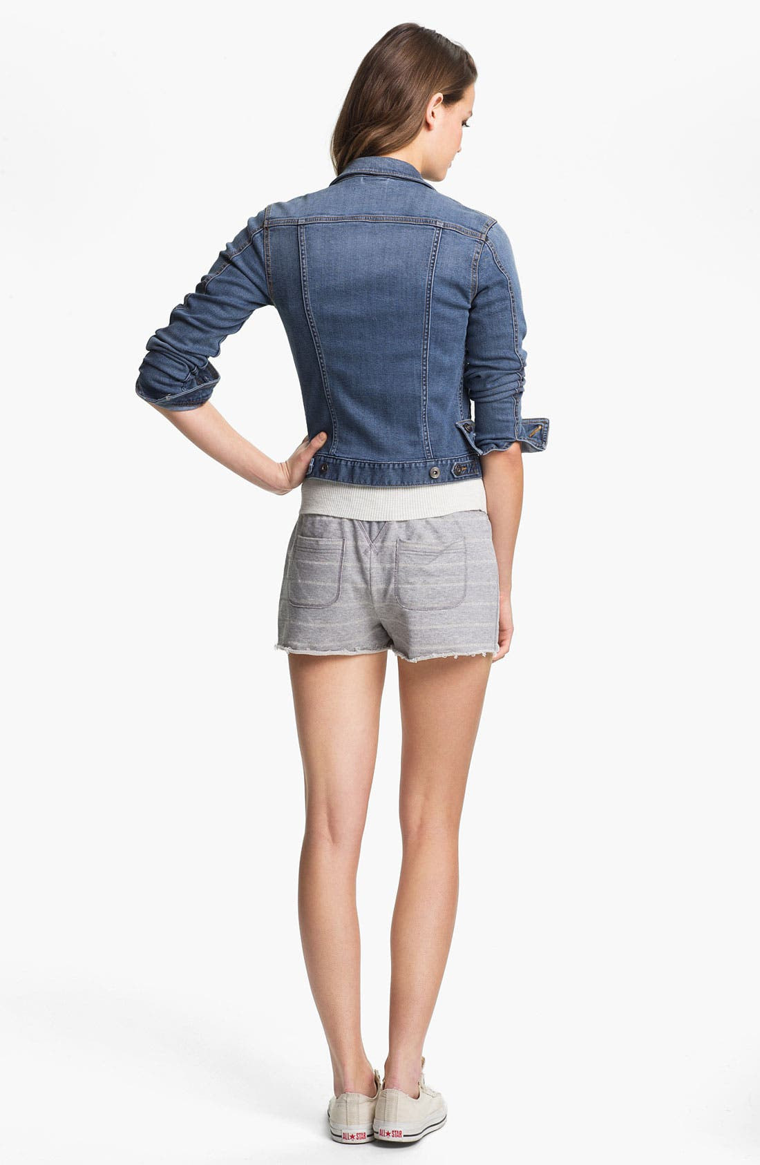 Alternate Image 4  - Two by Vince Camuto Sweatshorts