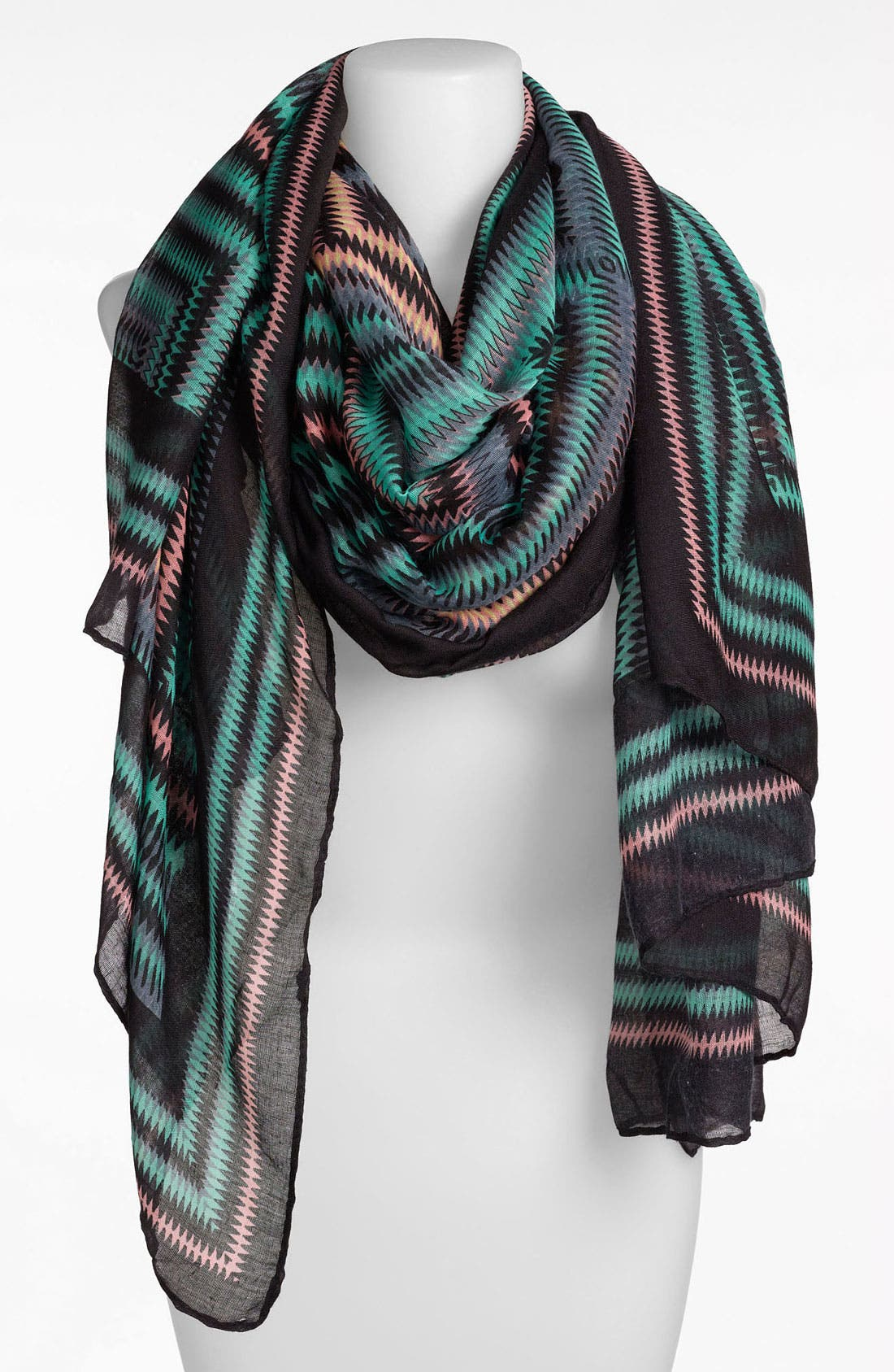 Alternate Image 1 Selected - BP. Sheer Zigzag Scarf