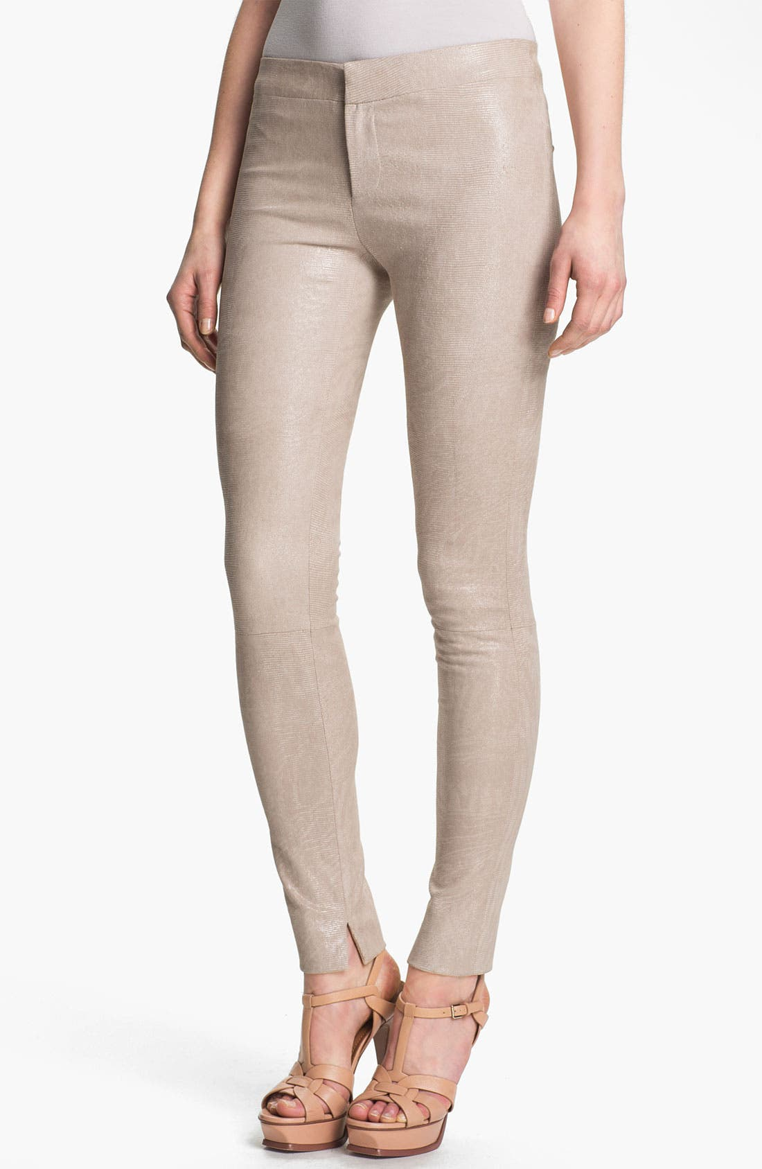 Alternate Image 1 Selected - J Brand Ready-to-Wear 'Bette' Textured Leather Pants