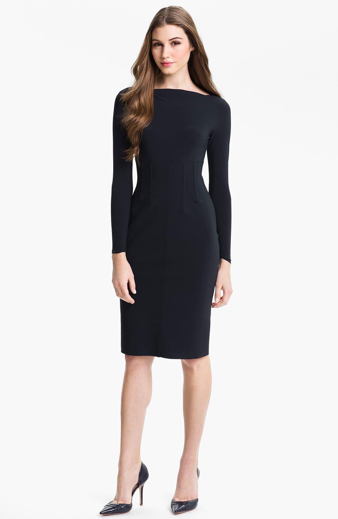 Alternate Image 1 Selected - La Petite Robe by Chiara Boni Boatneck Dress