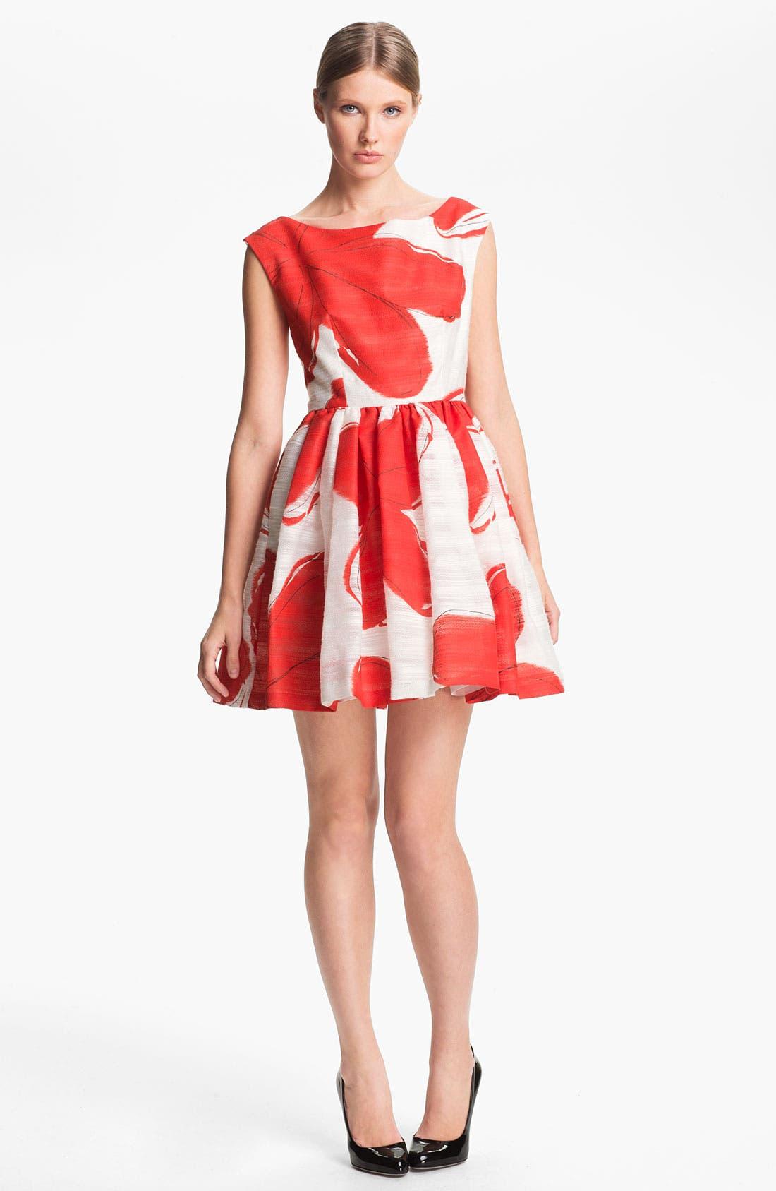 Alternate Image 1 Selected - Alice + Olivia Print Dress