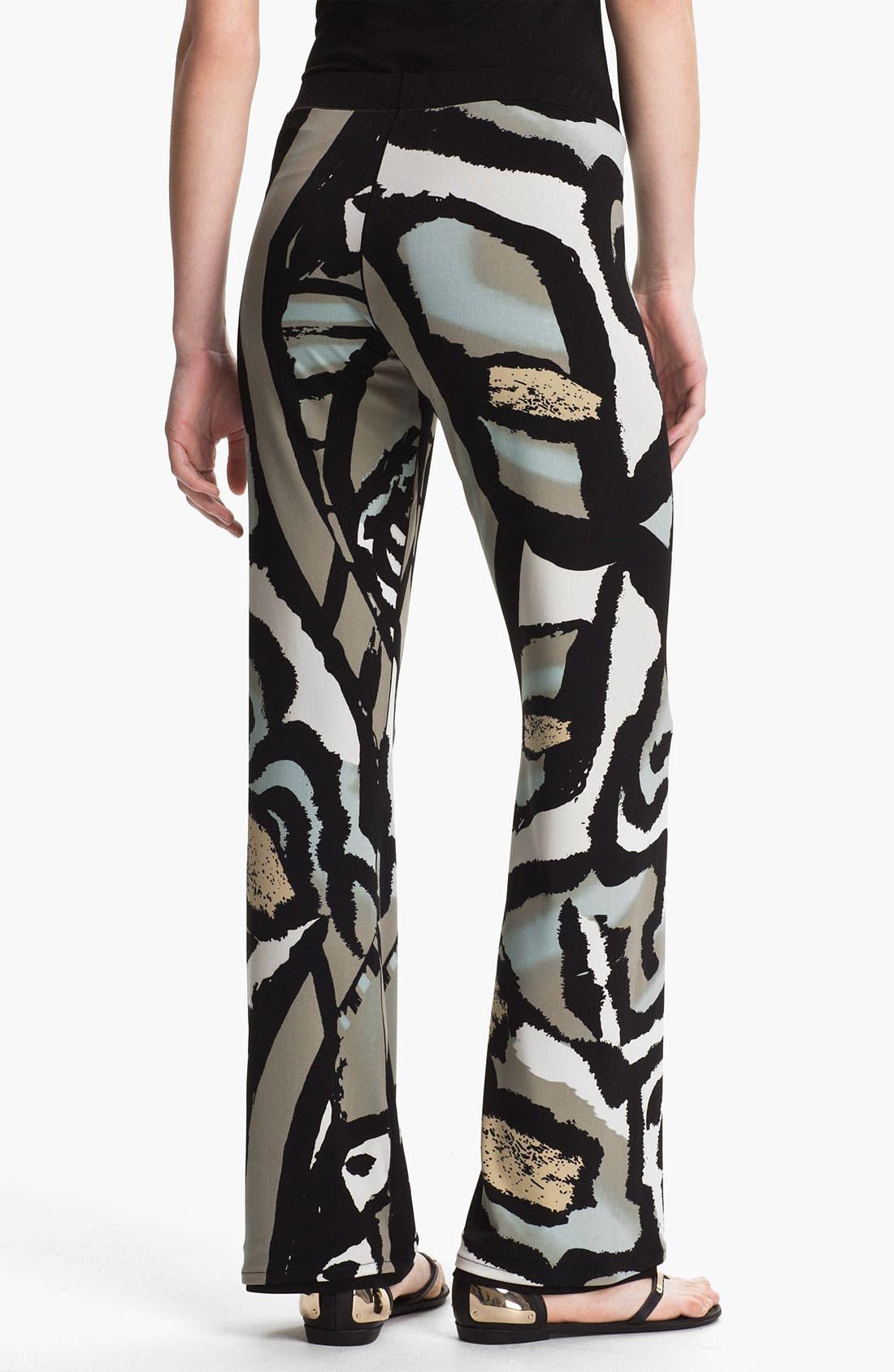 Alternate Image 2  - Eva Varro Reversible Flare Leg Pants