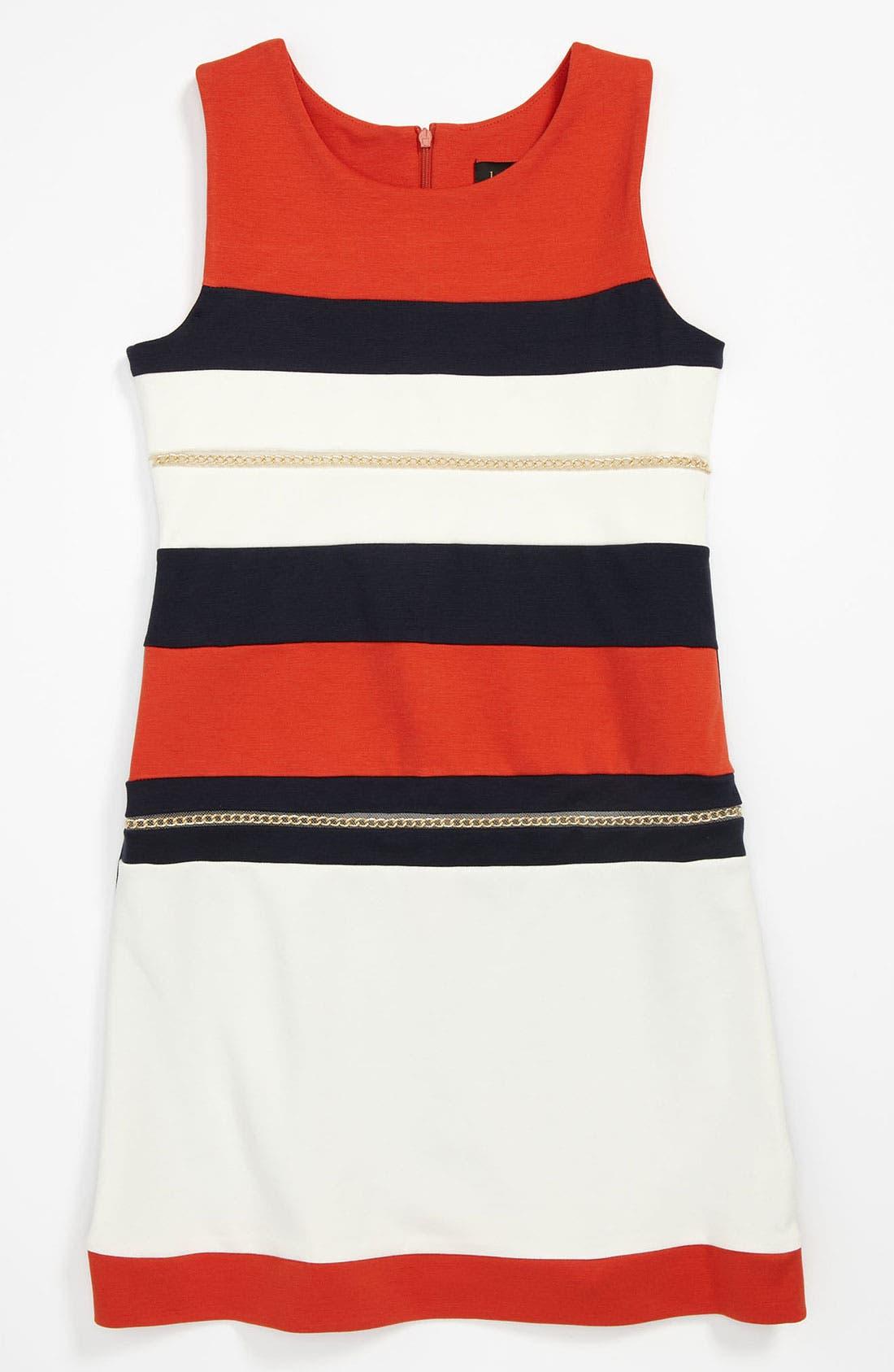 Alternate Image 1 Selected - Laundry by Shelli Segal 'Veronica' Dress (Big Girls)