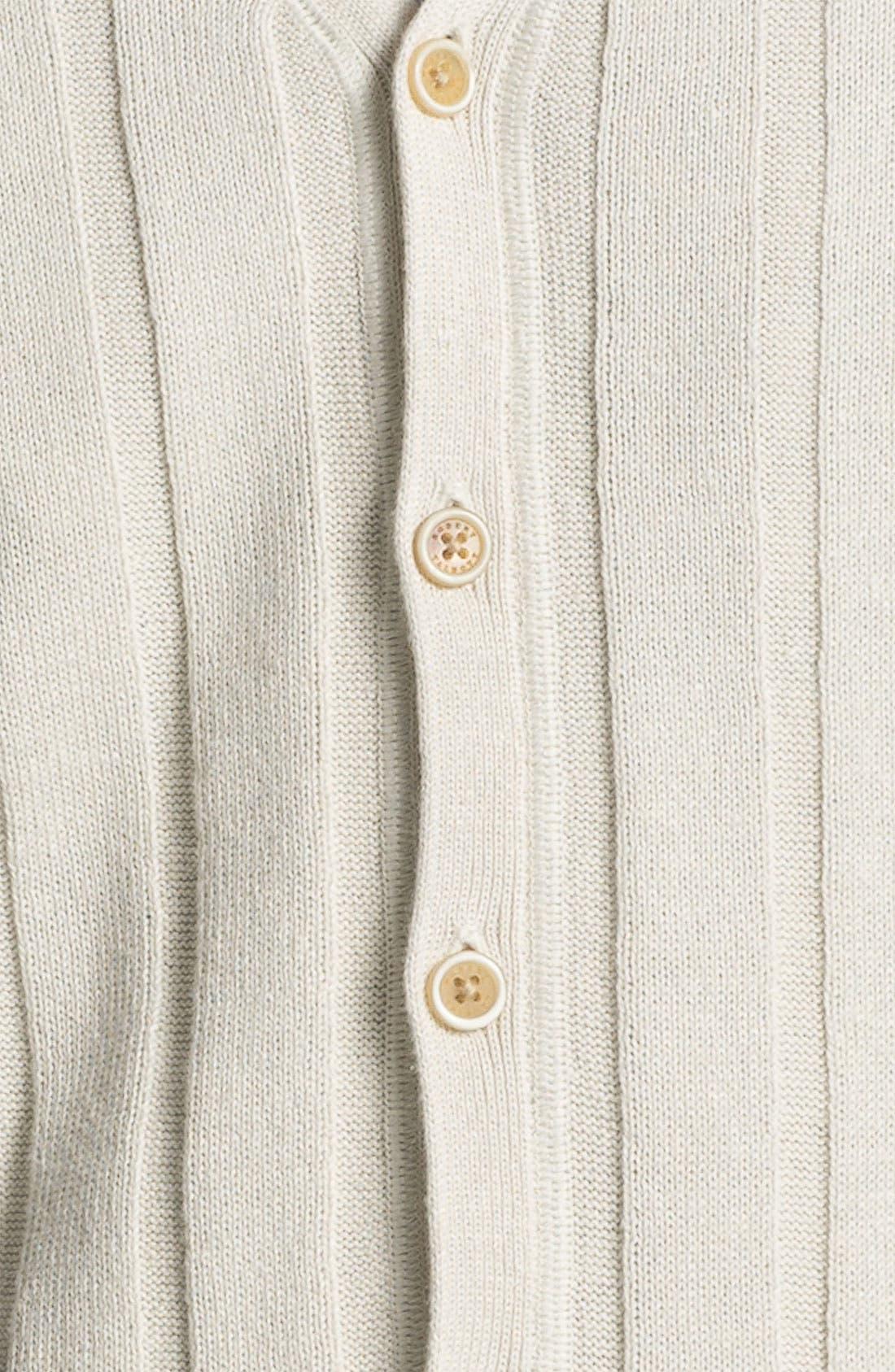 Alternate Image 3  - Robert Talbott Linen & Cotton Sweater Vest