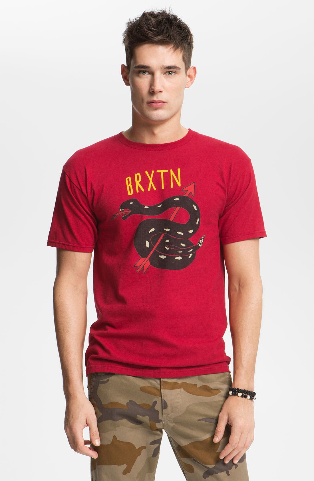 Alternate Image 1 Selected - Brixton 'Rattle 11' Graphic T-Shirt