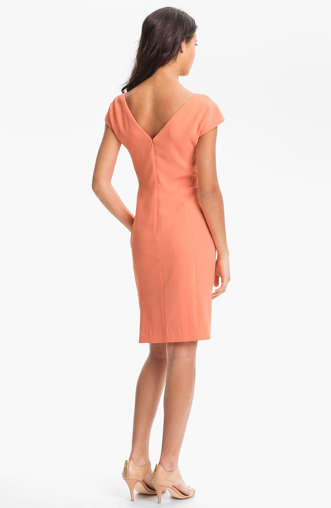 Alternate Image 2  - Rachel Roy Cap Sleeve Dress