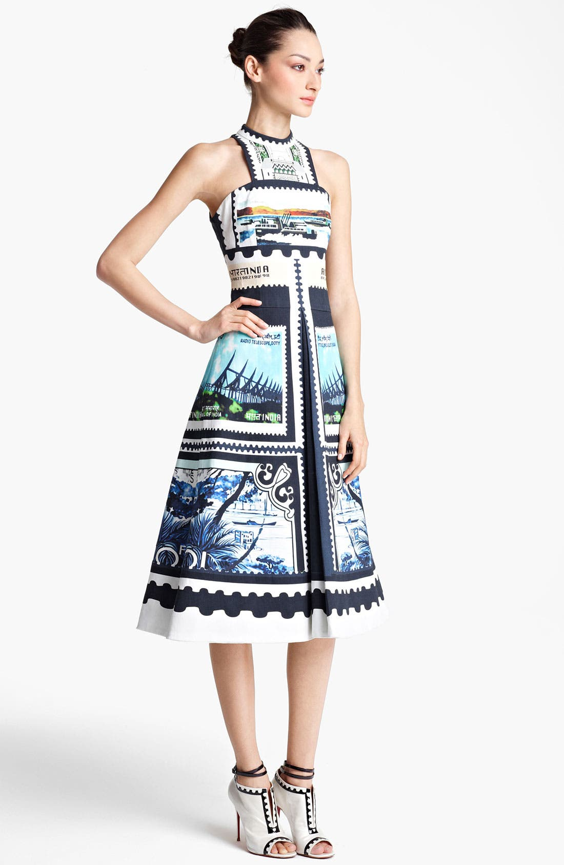Main Image - Mary Katrantzou 'Kathmandu Print' A-Line Dress