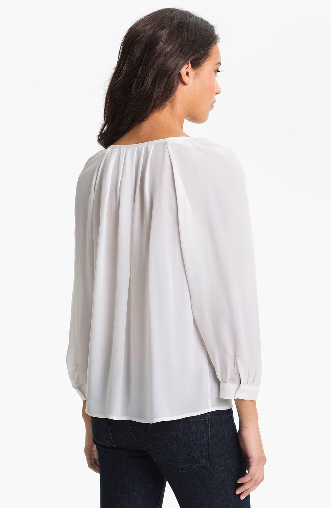 Alternate Image 2  - Joie 'Devin' Silk Top