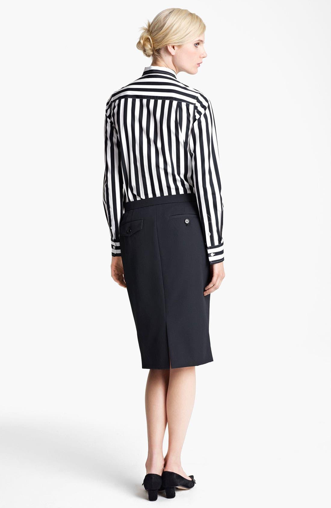 Alternate Image 3  - MARC JACOBS Techno Twill Skirt