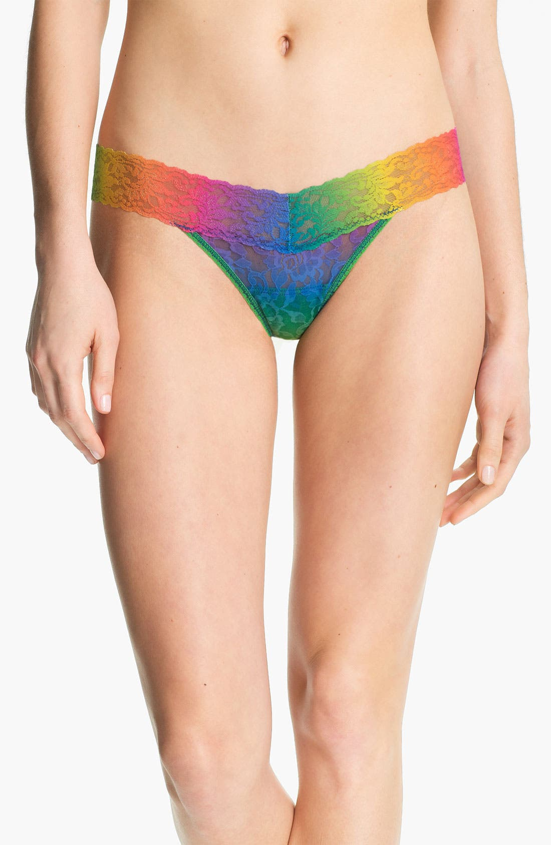 Main Image - Hanky Panky 'Rainbow' Low Rise Thong