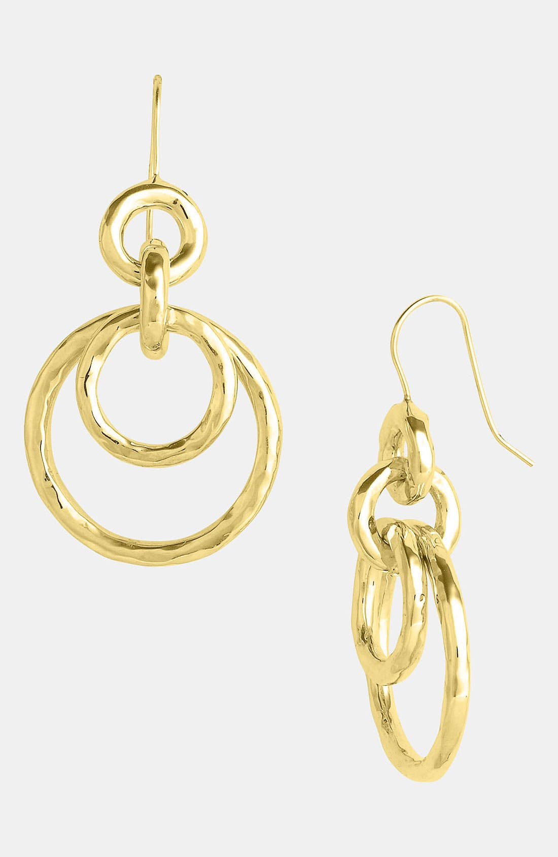 Alternate Image 1 Selected - Ippolita 'Glamazon - Mini Jet Set' 18k Gold Drop Earrings