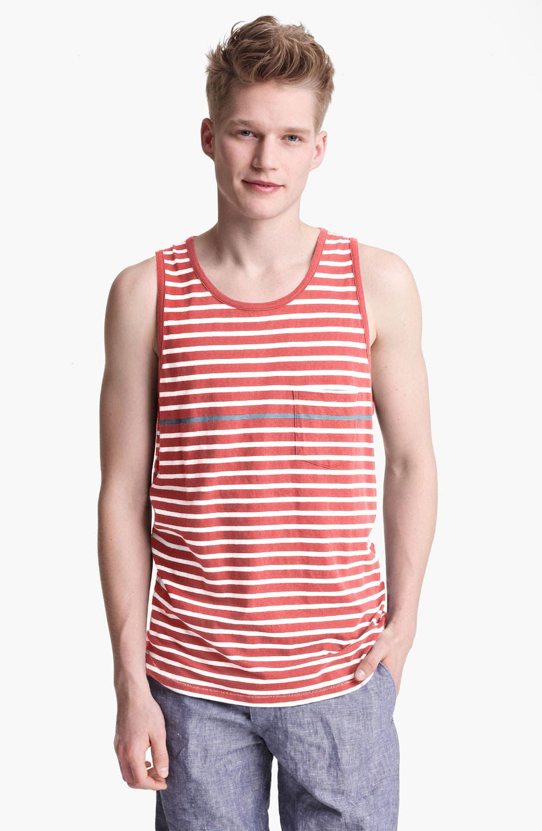 Alternate Image 1 Selected - rag & bone 'Perfect Stripe' Tank Top