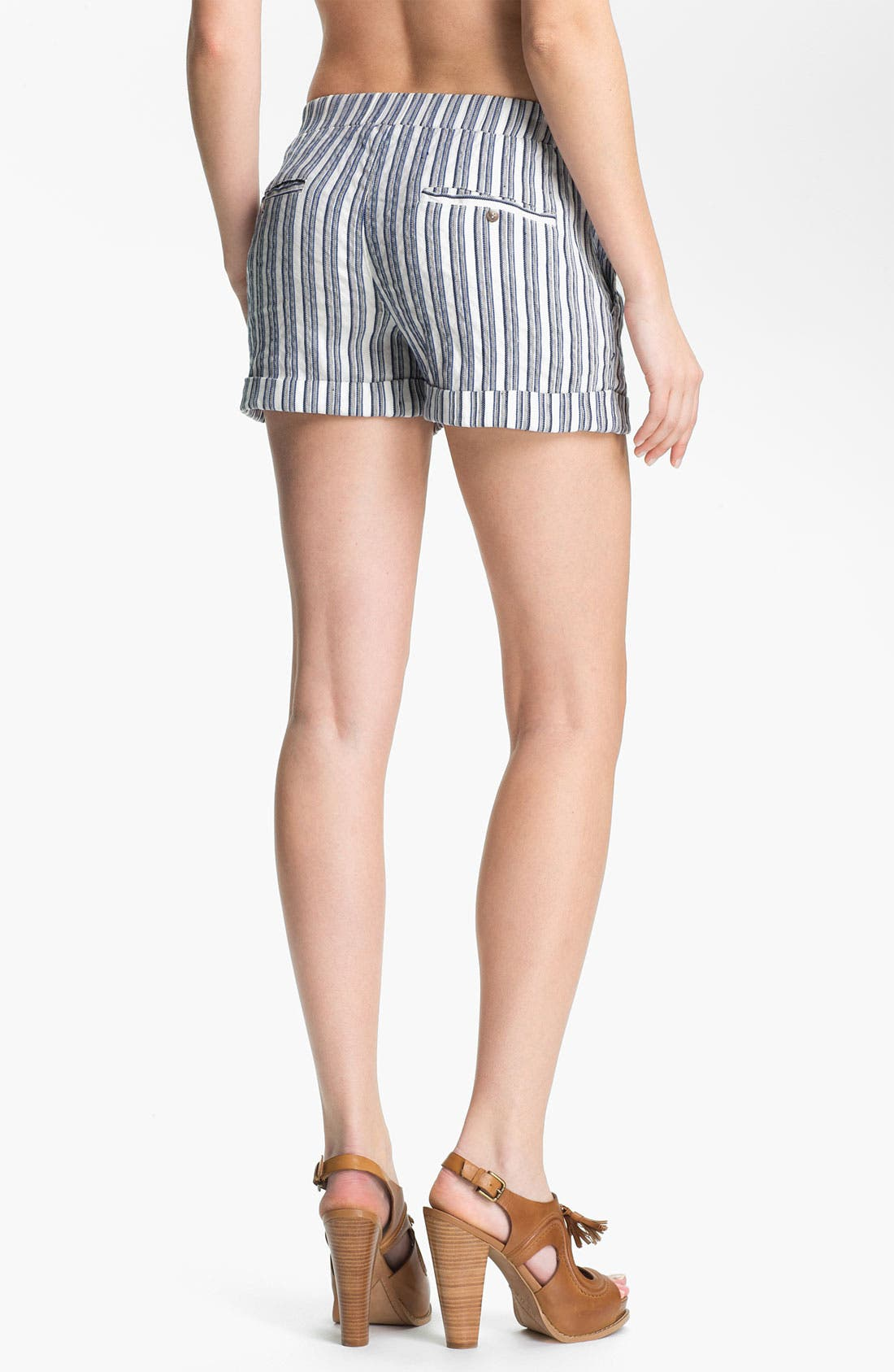 Alternate Image 2  - Ella Moss 'Kaycee' Stripe Shorts