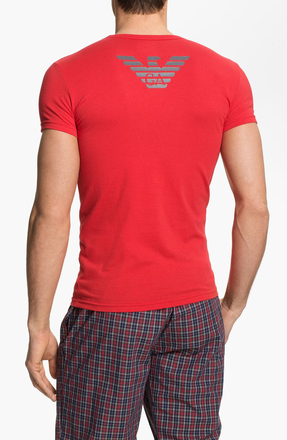 Alternate Image 2  - Emporio Armani 'Eagle' Stretch Cotton Crewneck T-Shirt