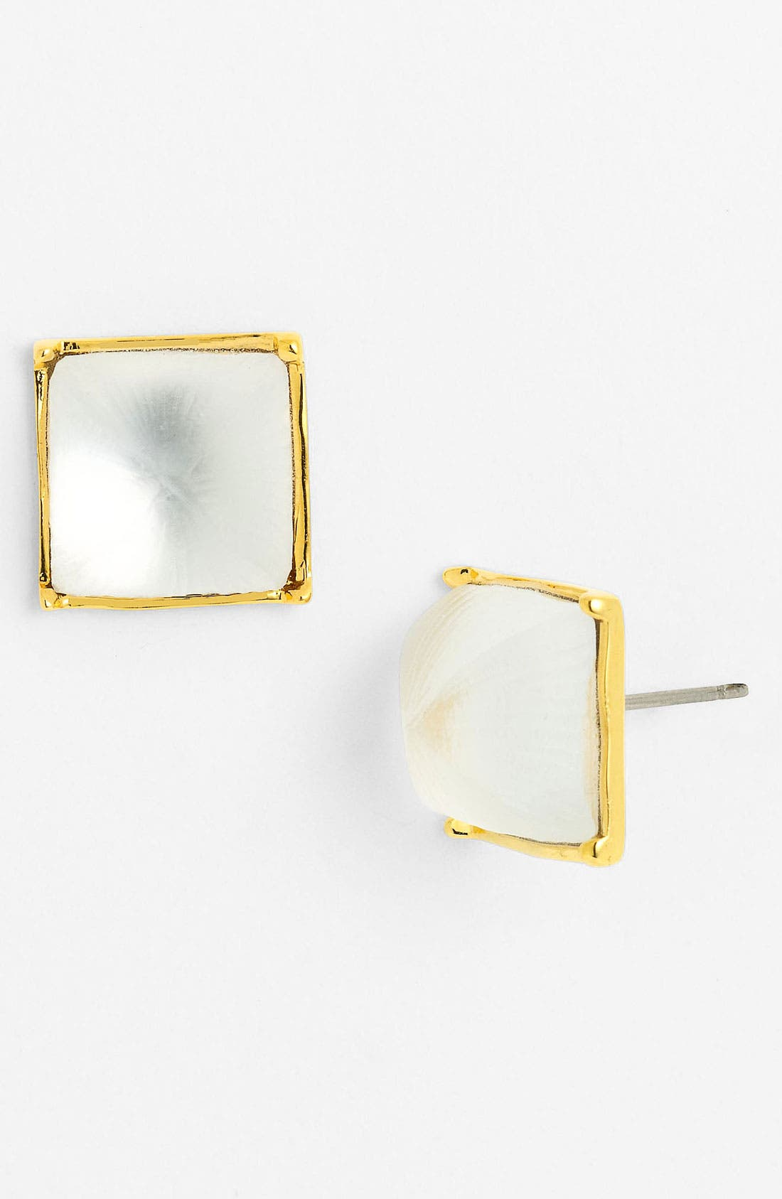 Alternate Image 1 Selected - Alexis Bittar 'Lucite®' Pyramid Stud Earrings