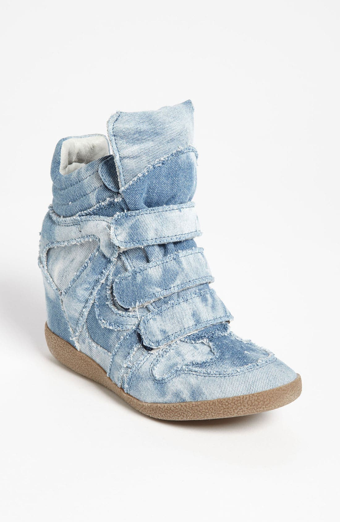 'Hilite-C' Wedge Sneaker,                             Main thumbnail 1, color,                             Denim