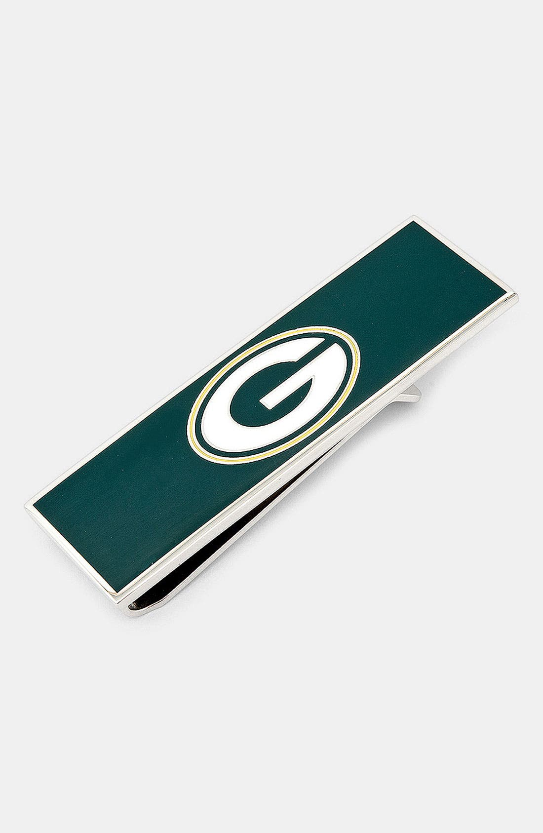 Main Image - Cufflinks, Inc. 'Green Bay Packers' Money Clip