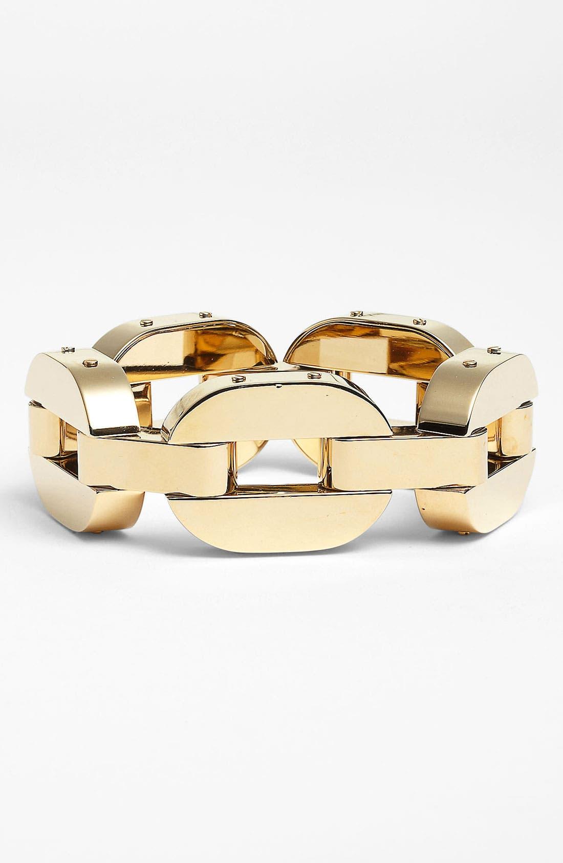 Alternate Image 1 Selected - Michael Kors 'Jet Set' Link Bracelet