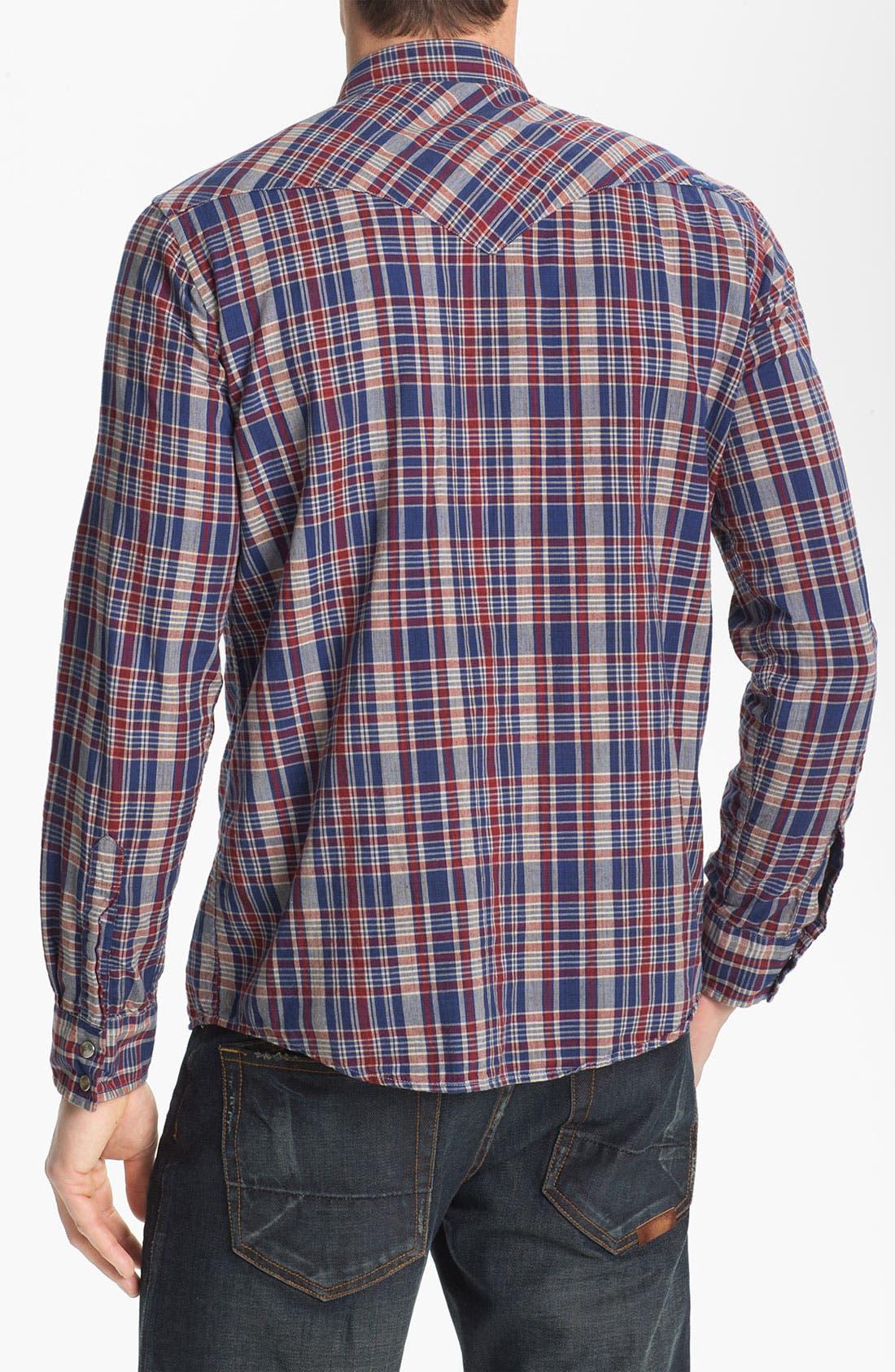 Alternate Image 2  - Pendleton 'Epic' Madras Plaid Western Shirt