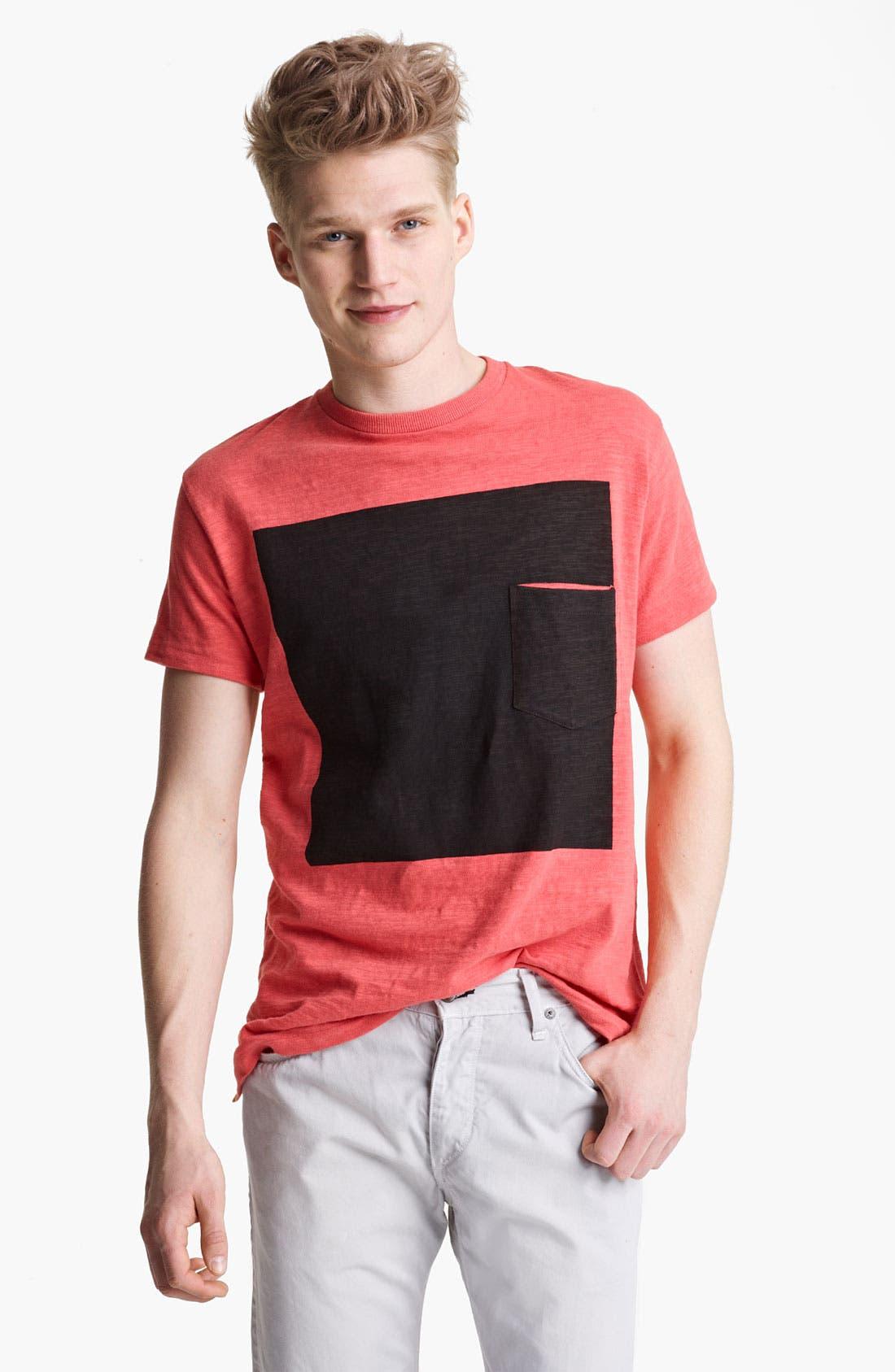 Main Image - rag & bone Square Print Graphic T-Shirt