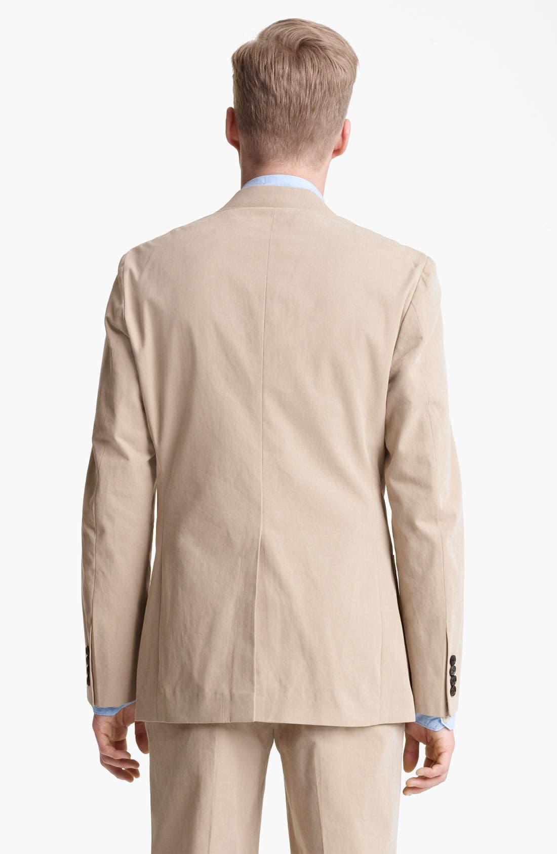 Alternate Image 8  - Billy Reid 'Campbell' Cotton Suit