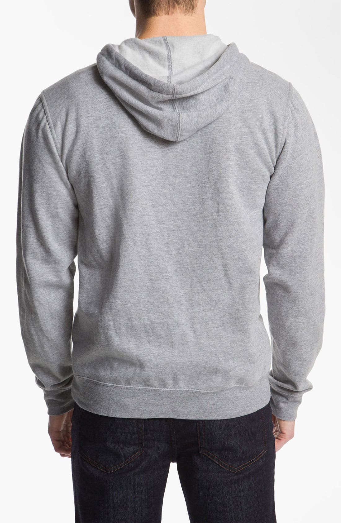 Alternate Image 2  - RVCA 'Balance Box' Hooded Sweatshirt