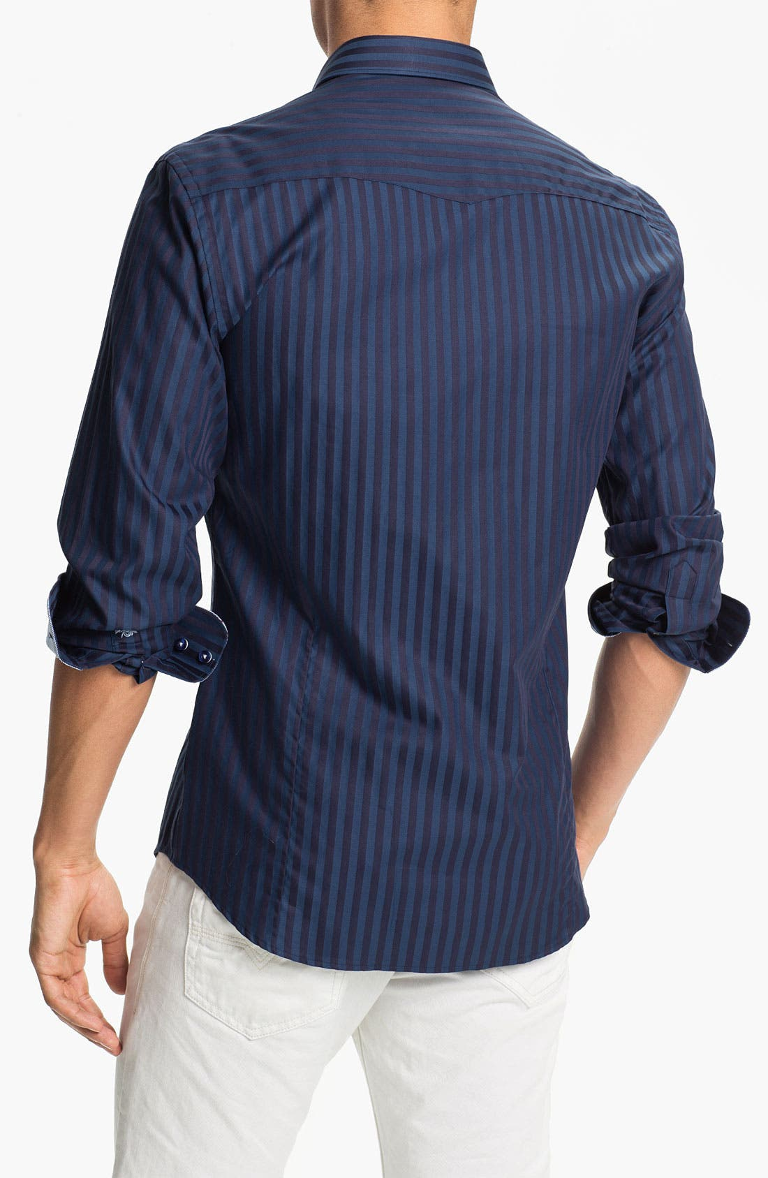 Alternate Image 2  - Stone Rose Stripe Woven Shirt