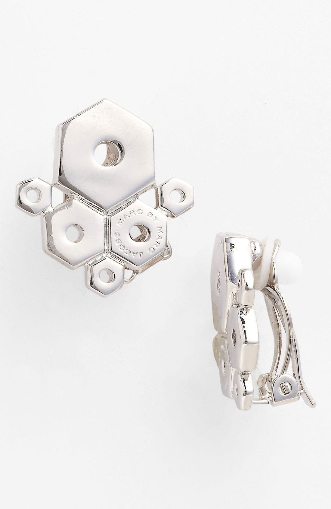 Main Image - MARC BY MARC JACOBS 'Bolts' Clip Stud Earrings