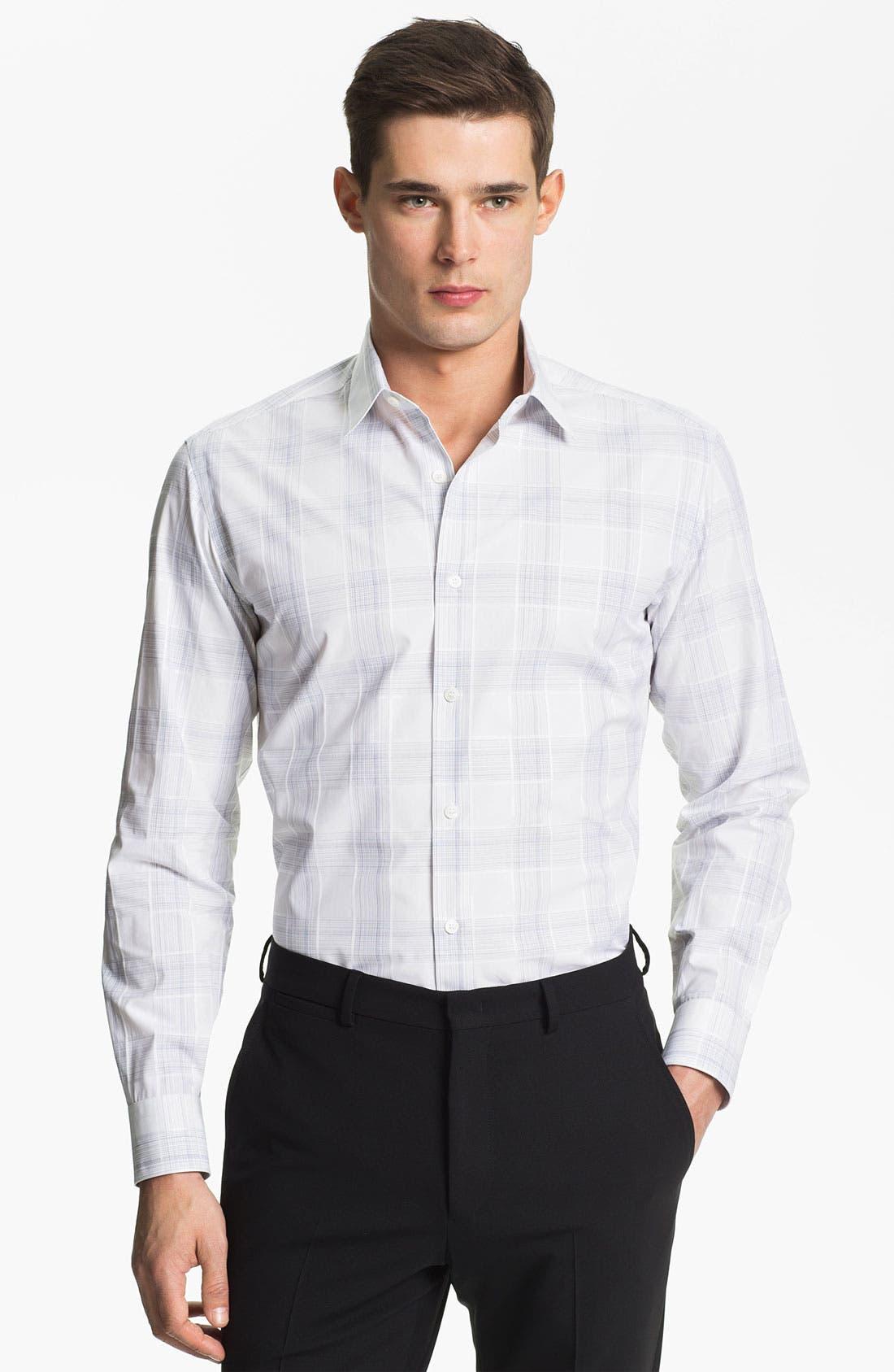 Alternate Image 1 Selected - Salvatore Ferragamo Regular Fit Sport Shirt