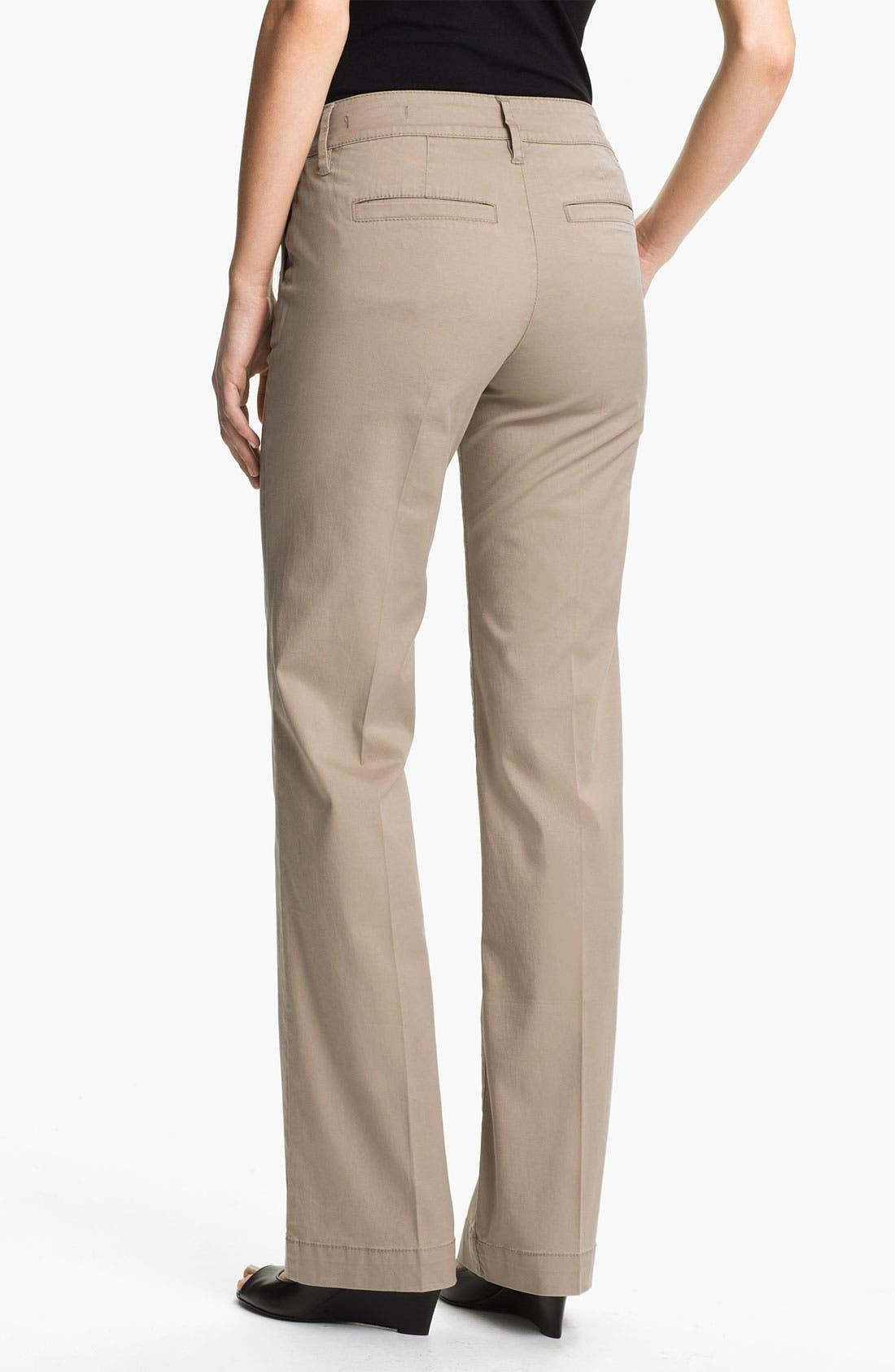 Alternate Image 2  - Jag Jeans 'Maitland' Trousers (Petite)