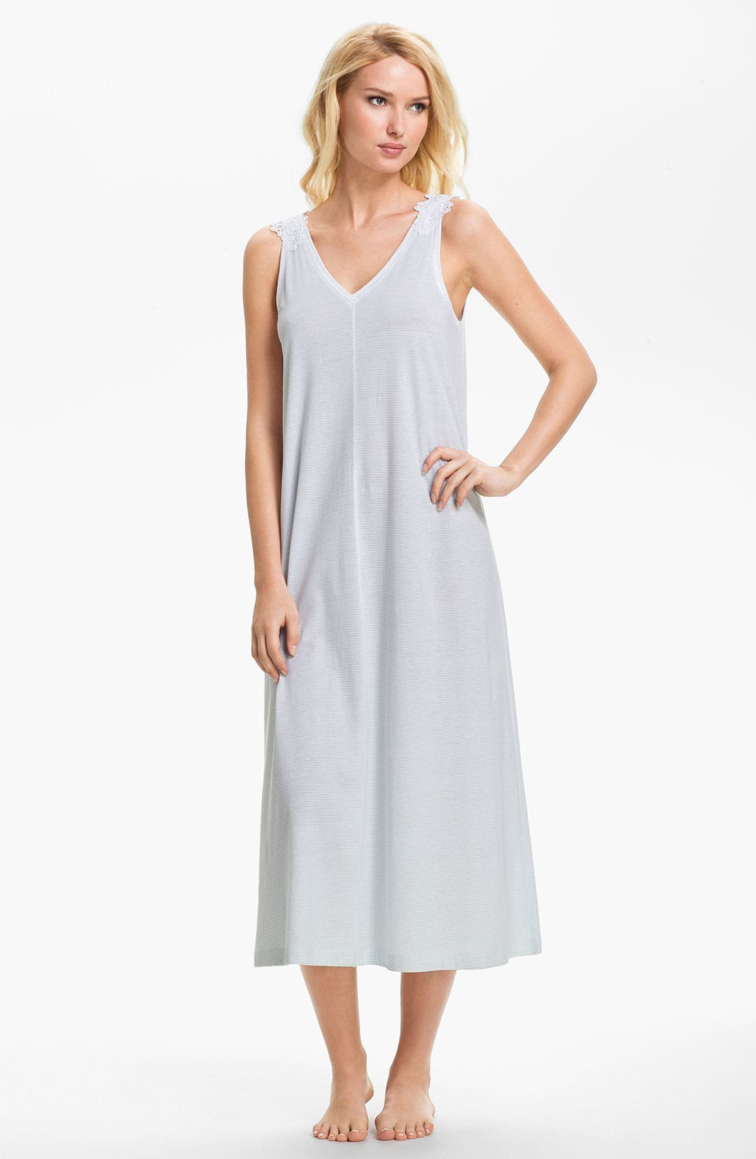 Alternate Image 1 Selected - Carole Hochman Designs Sleeveless Nightgown