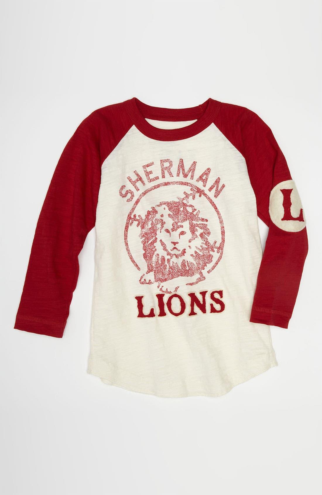 Alternate Image 1 Selected - Peek 'Sherman Lions' T-Shirt (Toddler, Little Boys & Big Boys)