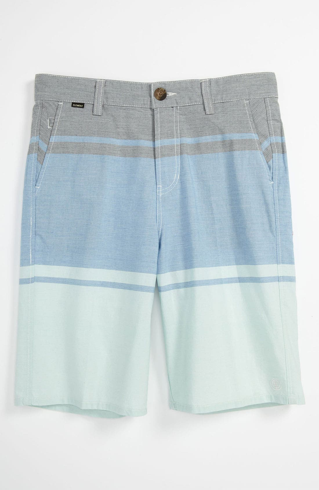 Alternate Image 1 Selected - Element 'Alex' Yarn Dyed Shorts (Big Boys)