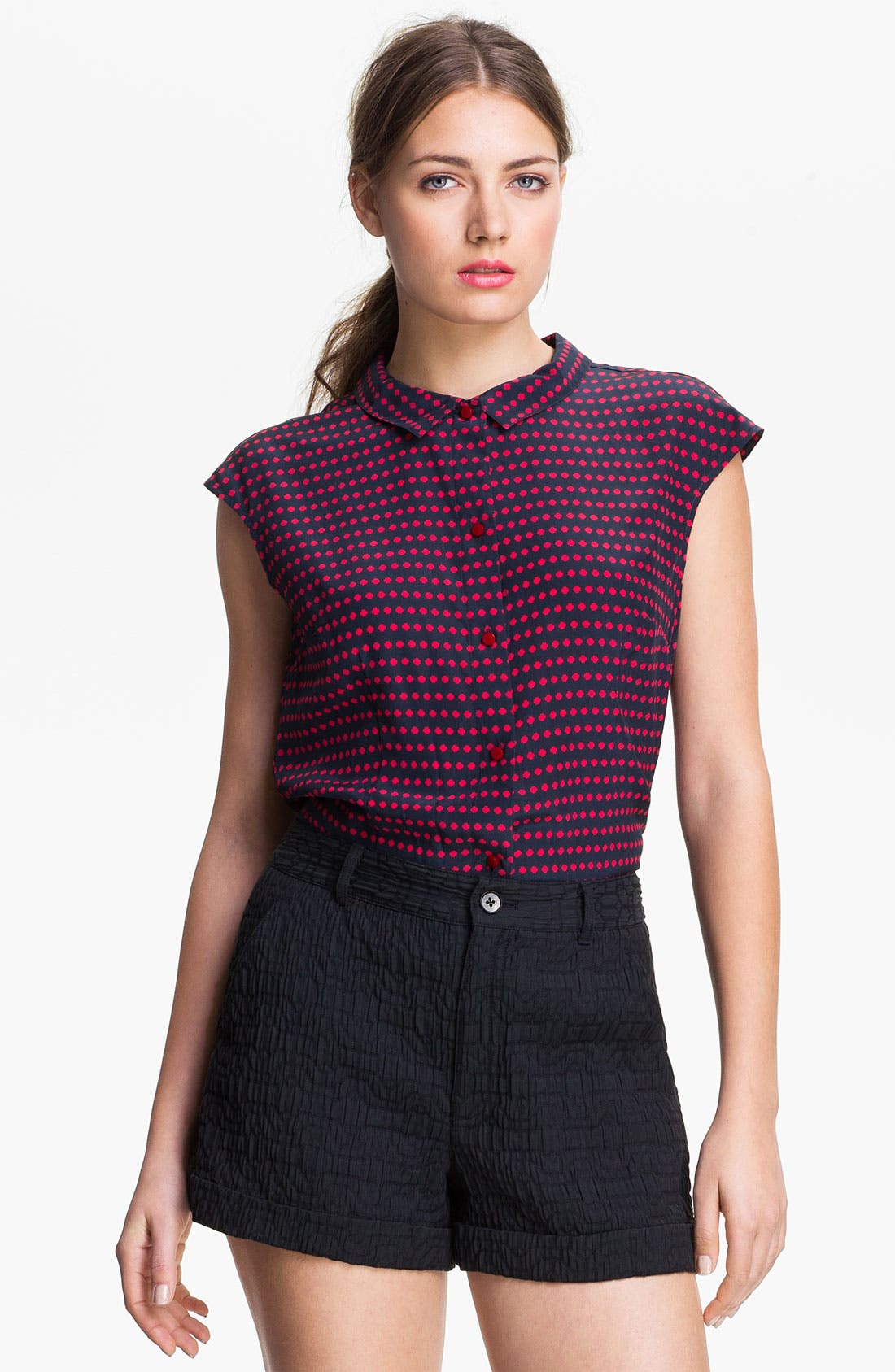 Main Image - MARC BY MARC JACOBS 'Izzy' Silk Top